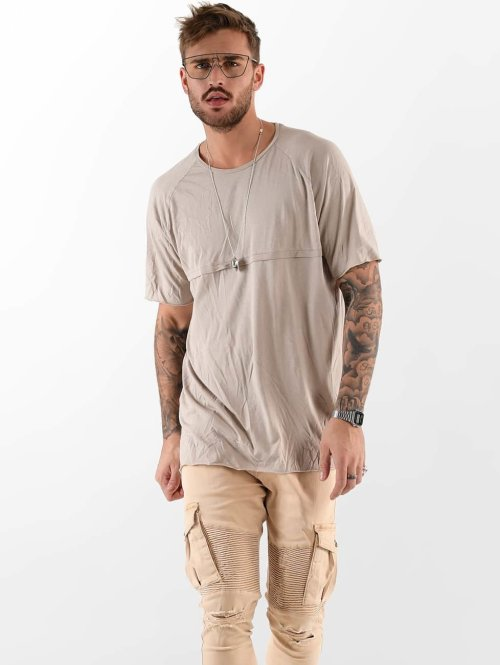 VSCT Clubwear Tričká Panel béžová