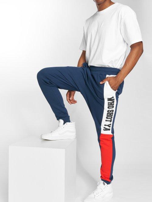 Who Shot Ya? Pantalone ginnico Lucid Style blu