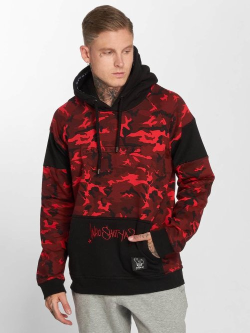 Who Shot Ya? Sweat capuche Emperor W camouflage