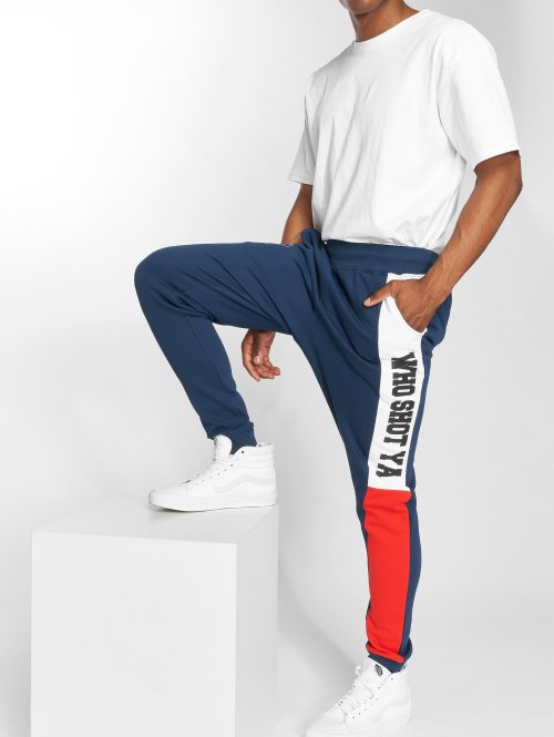 Who Shot Ya? Sweat Pant Lucid Style blue