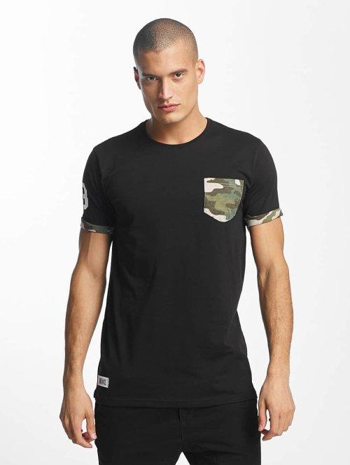Who Shot Ya? T-Shirt Gangsteam schwarz