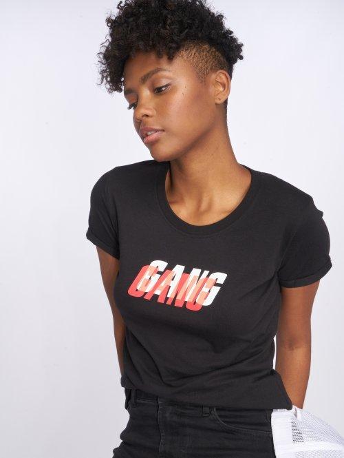 Who Shot Ya? T-Shirt Gang gang schwarz