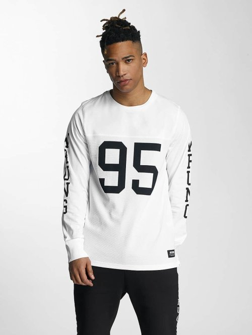 Wrung Division Longsleeve Pro wit