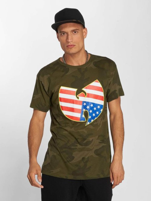 Wu-Tang T-paidat American Camo camouflage