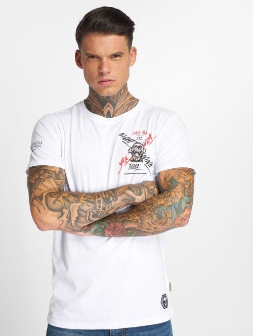 Yakuza Camiseta True Life blanco
