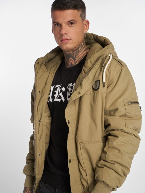 Yakuza Manteau hiver Trade Of Kings vert