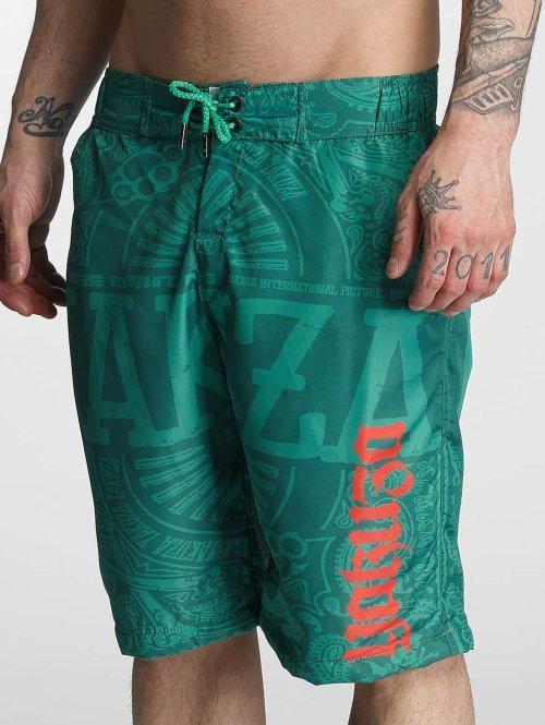 Yakuza Short de bain No Matter vert