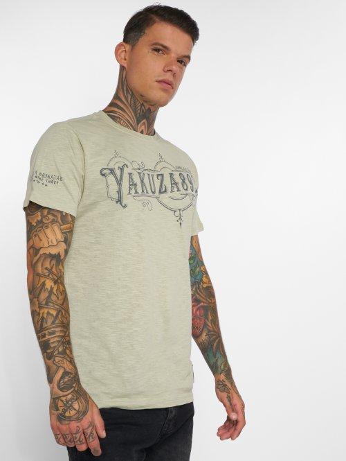 Yakuza T-Shirt Florist green