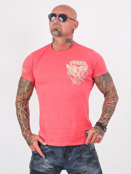 Yakuza T-shirt Eagle rosa
