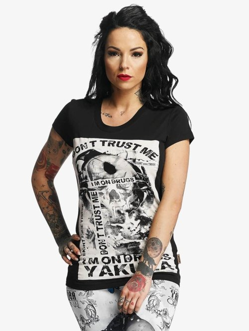 Yakuza T-Shirt Don't Trust Me schwarz