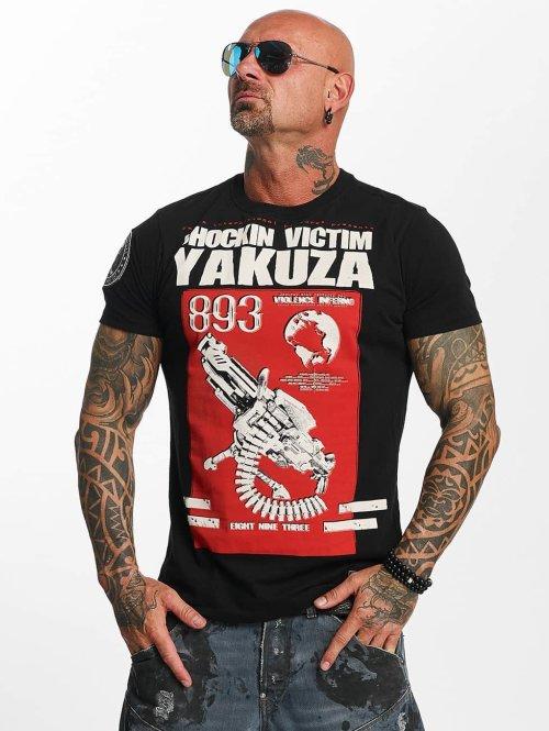Yakuza t-shirt Chockin Victim zwart