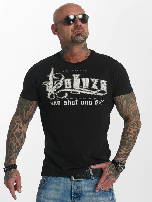 Yakuza t-shirt One Shot zwart