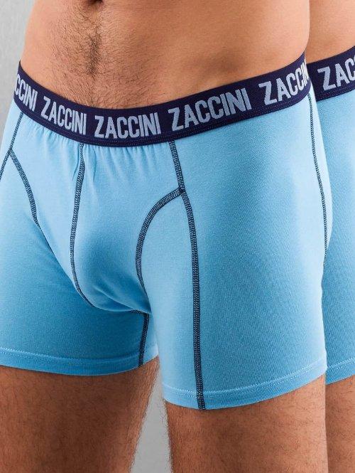 Zaccini Boxershorts Uni 2-Pack blau