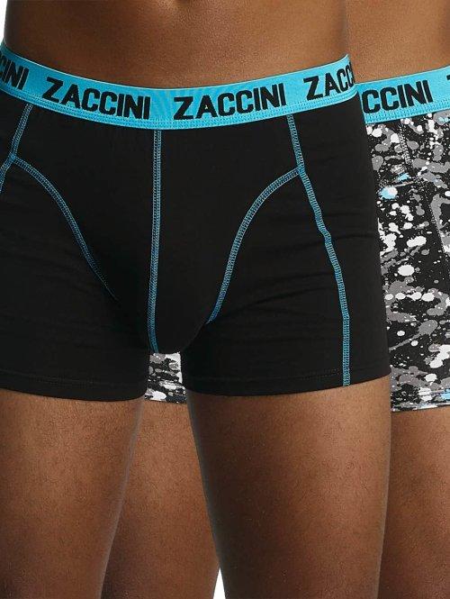 Zaccini boxershorts Paint zwart
