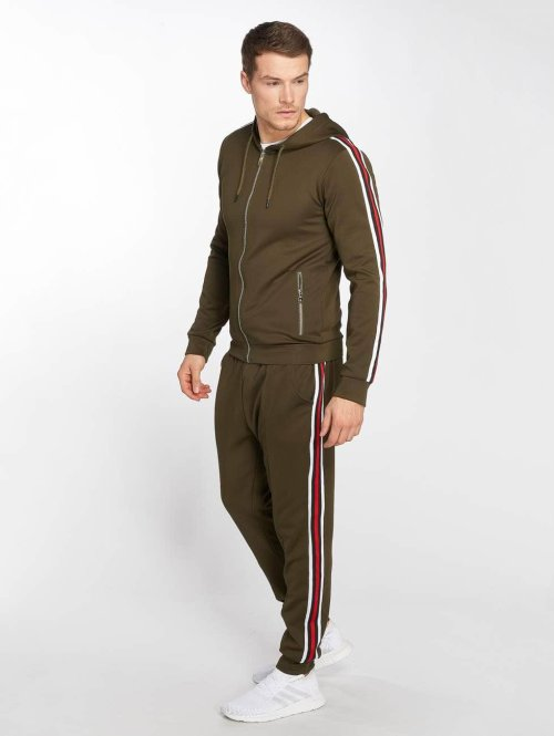 Zayne Paris Trainingspak Sweat khaki