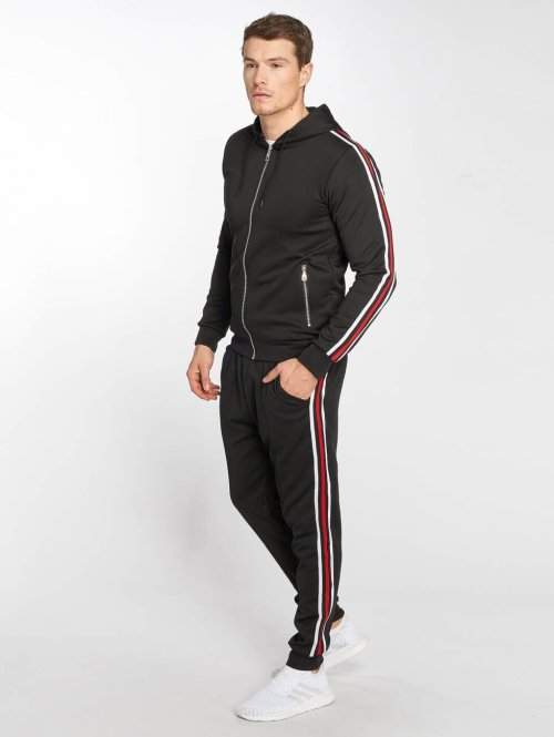 Zayne Paris Trainingspak Sweat zwart
