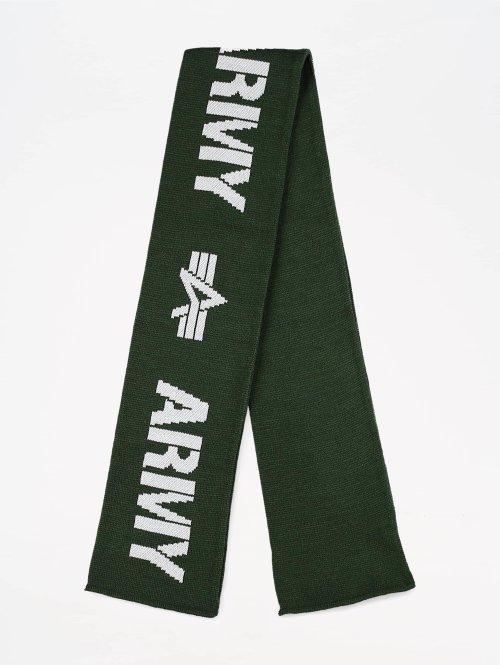 Alpha Industries Schal Army grün