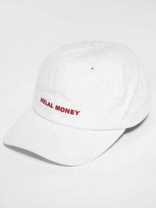 Helal Money 5 Panel Cap  Strapcap White...