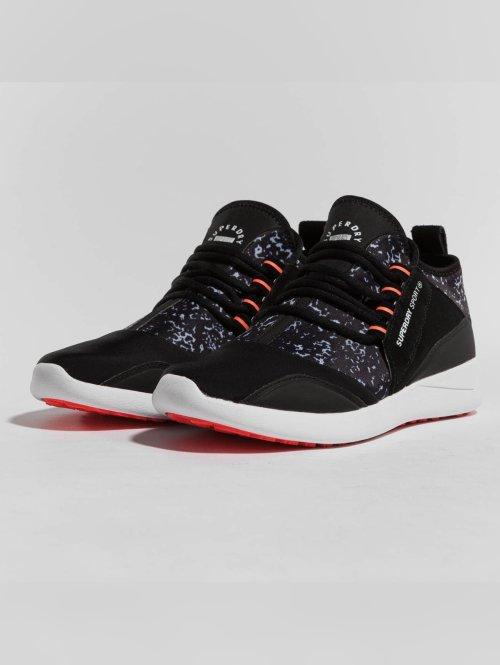 Superdry Baskets Super Lite Runner noir