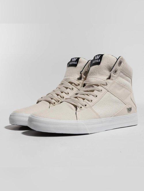 Supra sneaker Aluminium wit