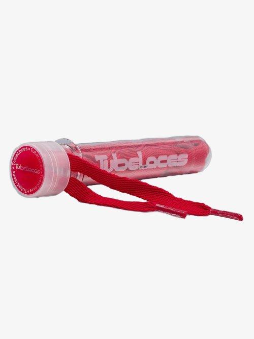 Tubelaces Kengännauha Flat Laces 140cm punainen