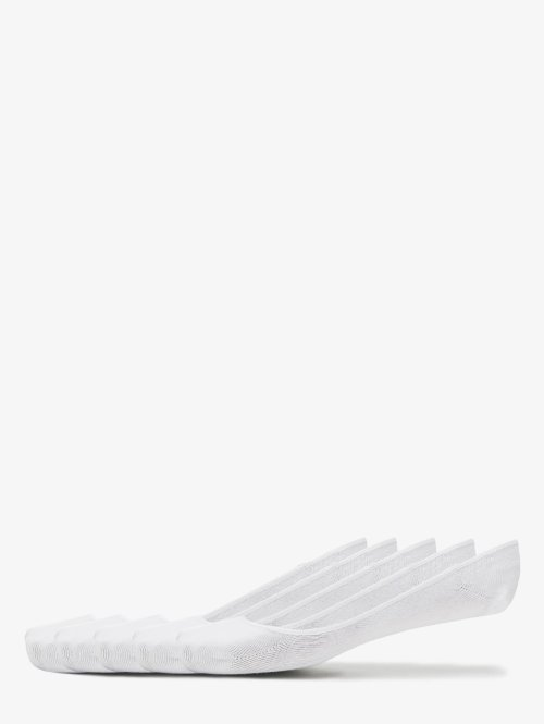 Urban Classics Chaussettes Invisible blanc