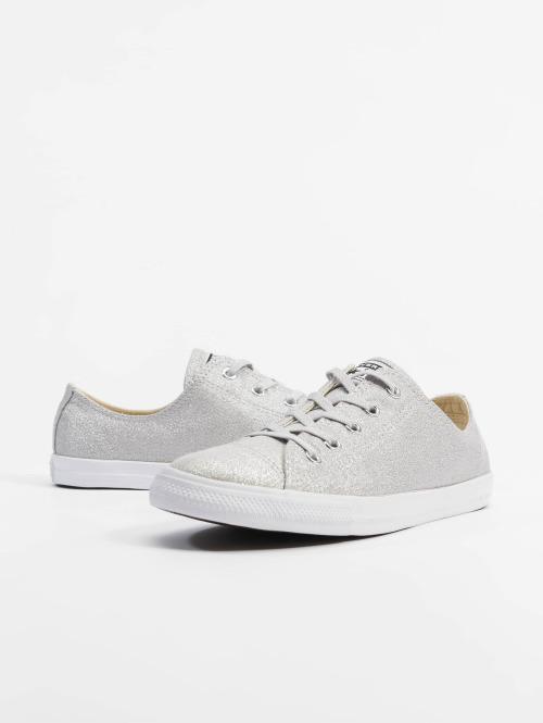 Converse Sneaker Chuck Taylor All Star Dainty Ox silberfarben