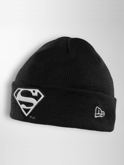 New Era Beanie Reflect Cuff Knit Superman schwarz