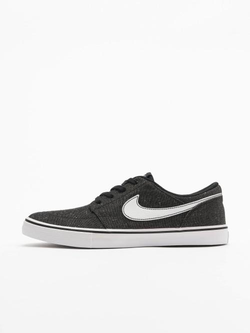 Nike SB Sneaker SB  Solarsoft Portmore II Canvas Skateboarding schwarz