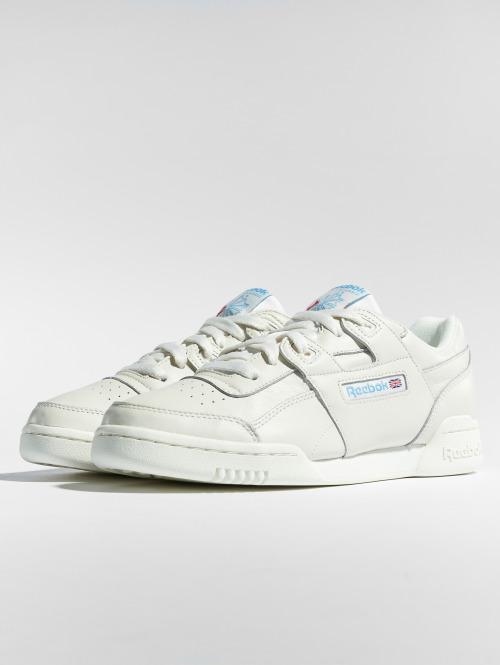 Reebok Sneaker Workout Lo Plus weiß
