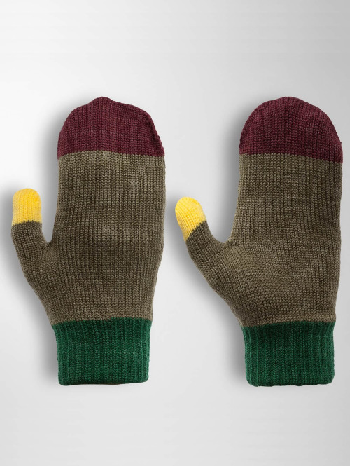 TrueSpin Handschuhe Mittens olive