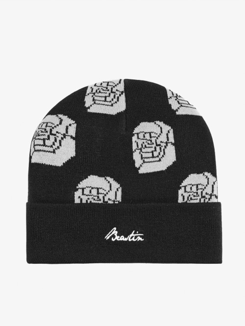 Beastin 5 Panel Caps Black Roses schwarz