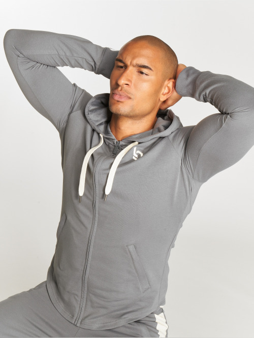 Beyond Limits Zip Hoodie Foundation szary