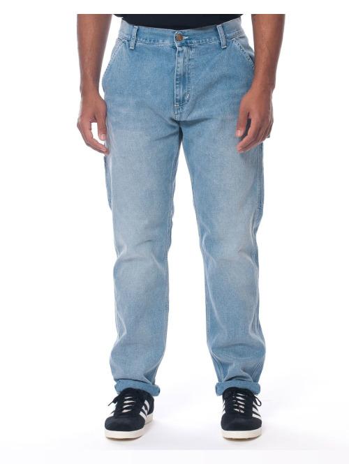 Carhartt WIP Straight Fit Jeans Ruck Single blau