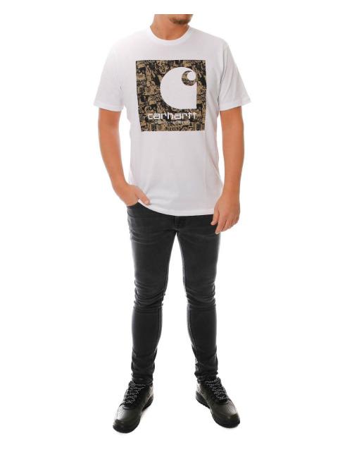 Carhartt WIP T-Shirt SS C Collage weiß