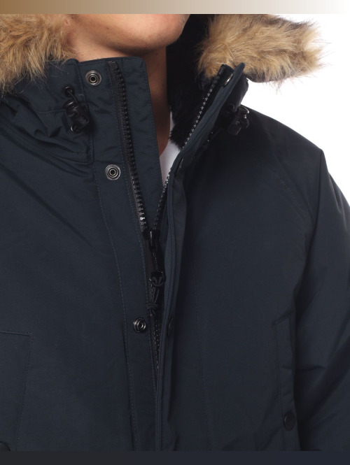 Carhartt WIP Winterjacke Anchorage Parka blau