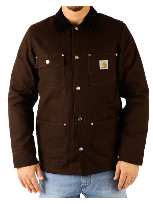 Carhartt WIP Winterjacke Michigan braun