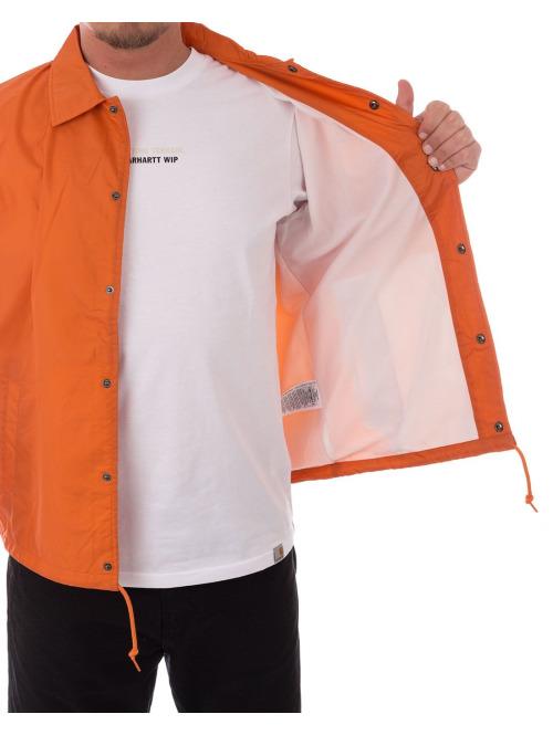 Carhartt WIP Winterjacke Sports Coach orange
