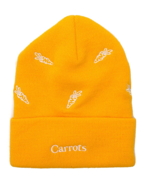 Carrots Fitted Cap All Over gelb