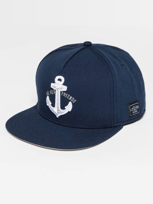 Cayler & Sons Snapback Cap WL Stay Down blau