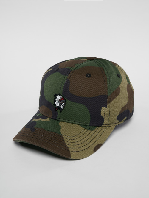 Cayler & Sons Snapback Cap Freedom Corps Curved camouflage