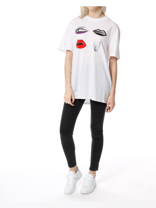 Cheap Monday T-Shirt  weiß