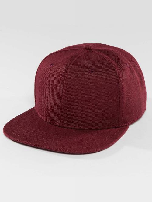 DEF Snapback Caps Basic punainen