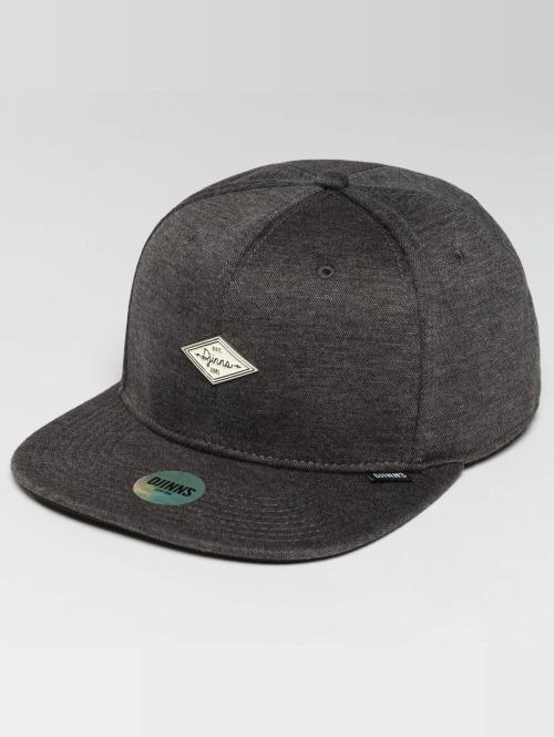Djinns Snapback Cap 6 Panel Jersey Pin grau
