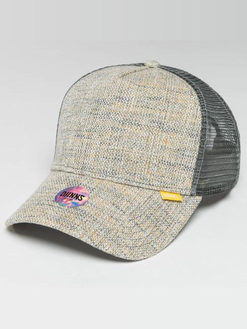 Djinns Trucker Cap Colored Linen grau