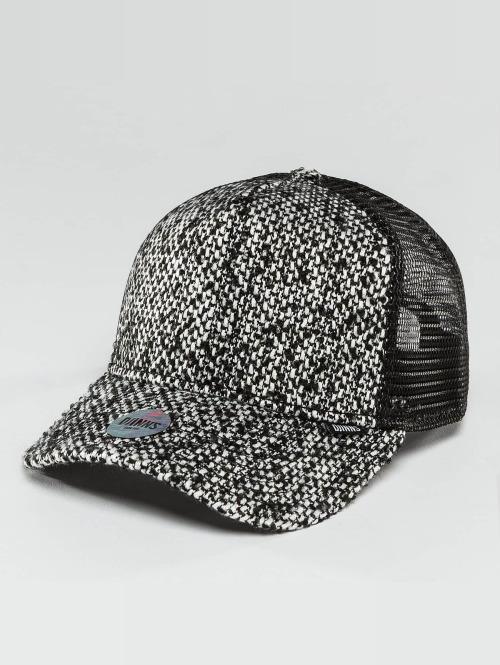 Djinns trucker cap Thick Jute zwart
