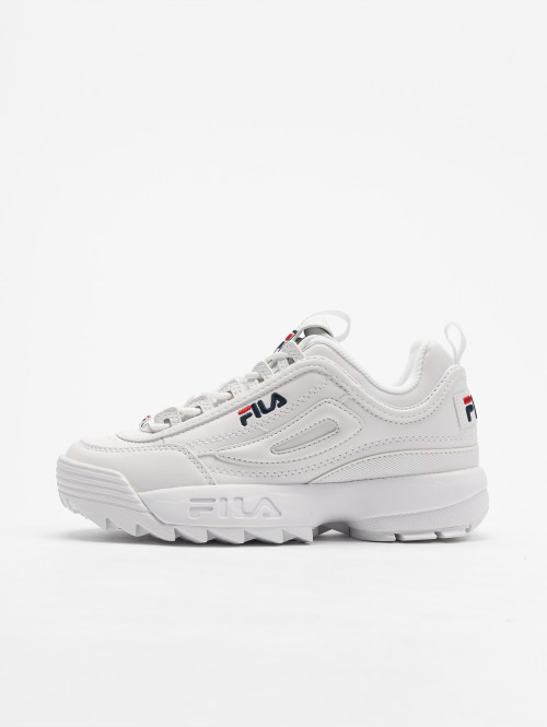 FILA Baskets Heritage Disruptor Low blanc