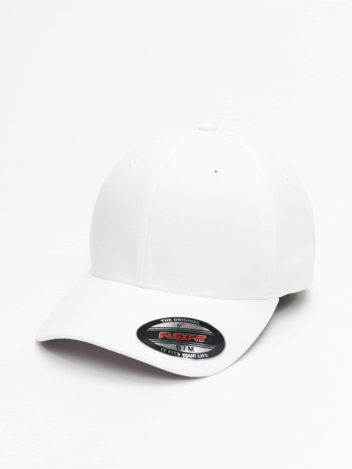 Flexfit Flexfitted Cap Wooly Combed bianco