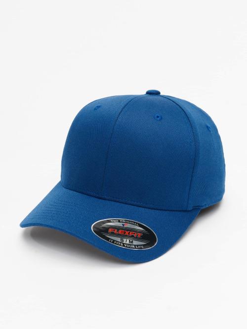 Flexfit Flexfitted Cap Wooly Combed blau