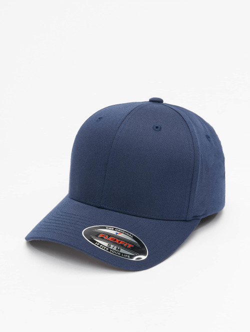 Flexfit Flexfitted Cap Wooly Combed blauw